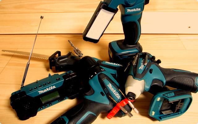 電動工具のメーカーは統一したほうがいいの?