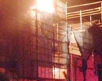 建築中の家だけを狙った連続放火