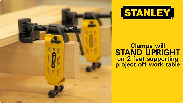 Stanley 2×4 Clamp