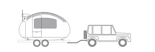 エコカプセルの移動手段
