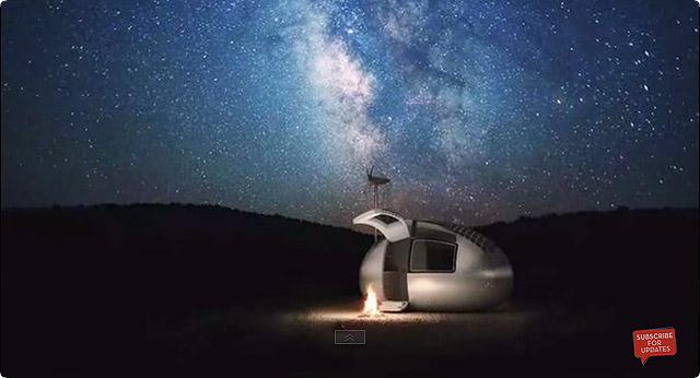 エコカプセル 夜景