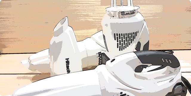 日立工機コードレスクリーナー