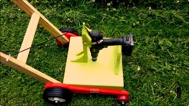 自作 芝刈り機の作り方