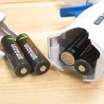 GG-210CLの電池収納部分