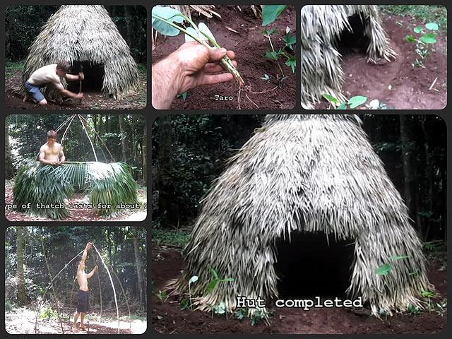 「原始的な人間の生活」を草や木、石から体現する男の動画ブログがスゴイ