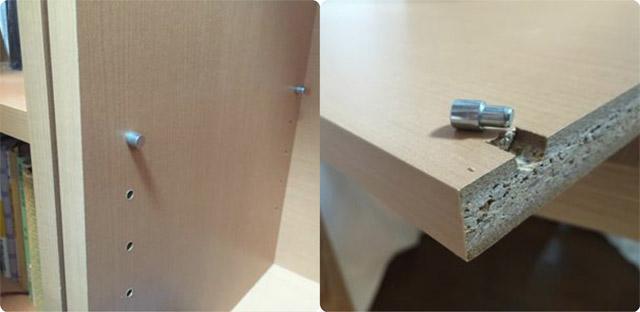 カラーボックスの棚を増やす方法