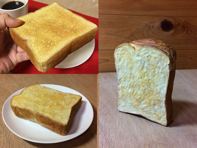 木彫りの食べ物