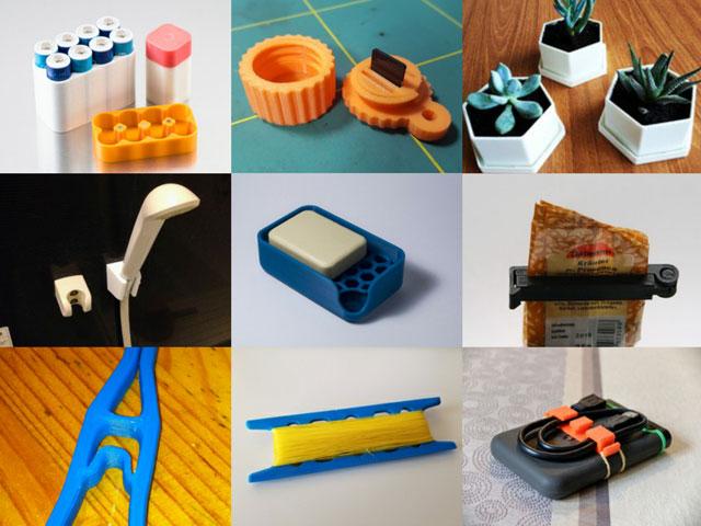 3Dプリンター 便利なもの