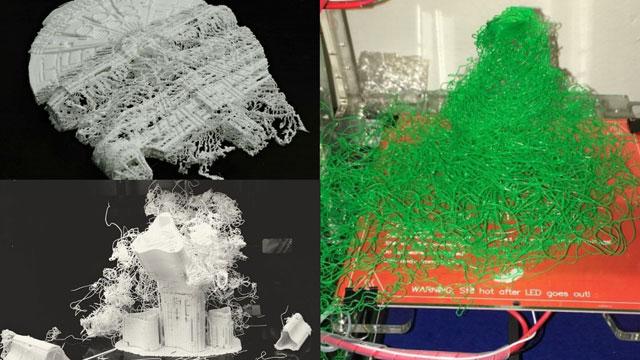 3Dプリンター 失敗