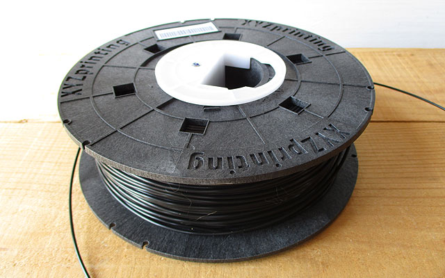 ダヴィンチ Jr./ダヴィンチmini専用フィラメント:ブラック(レビュー) RFPLCXJP01G