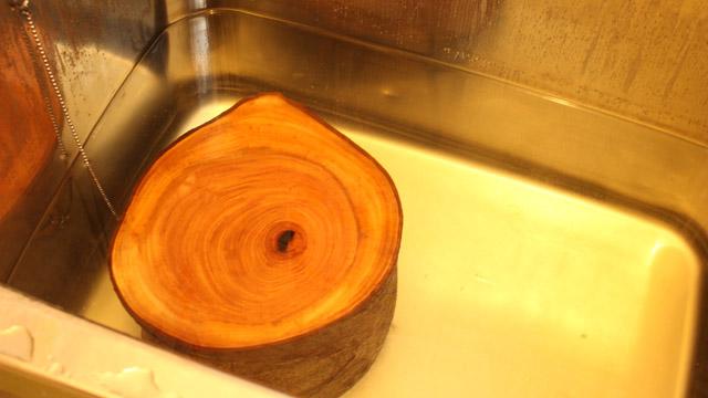 欅の臭いをとる方法2