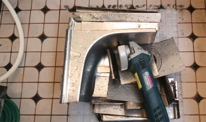 キッチンのシンクを切断する方法