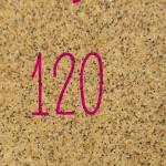 サンドペーパー(#120)