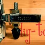 トグルクランプ|アームとゴム付きボルト