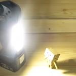 M801-LEDライト照射
