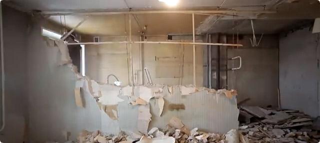 リフォーム 壁解体