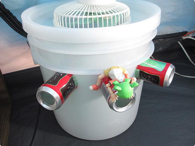 ペール缶と保冷剤で自作冷風機を作ってみた