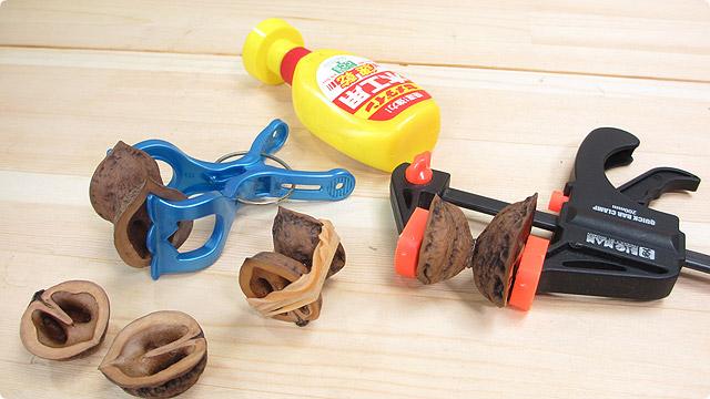 木工ボンド圧着