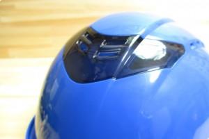 ヘルメットの通気孔