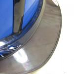 ヘルメットの透明ヒサシ