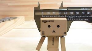 既製品の外径測定