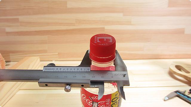 曲線部分の外径測定