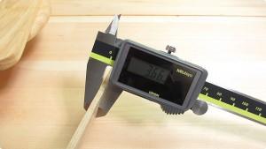 薄板の厚みを測定