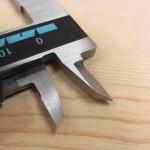 シンワ デジタルノギス 大文字 15cm-19975-(内側ジョウ)