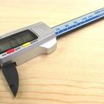 シンワ デジタルノギス カーボンファイバー製 100mm 19978