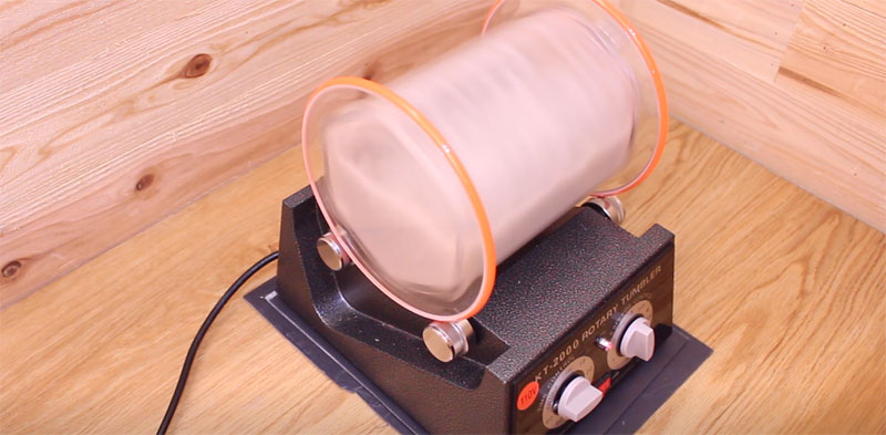 回転タンブラー(KT-2000)の騒音対策