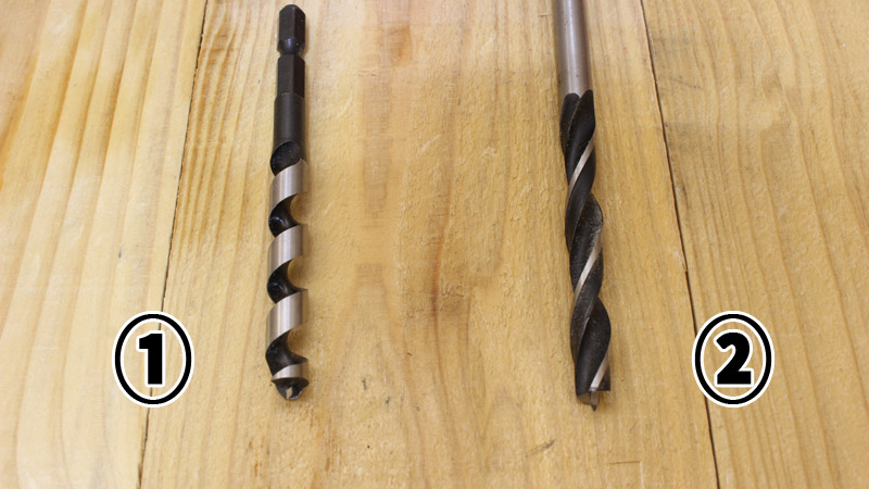 木工ドリルの種類