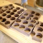 佛珠刀で作ったウォールナットのブレスレット(ハンドメイド)