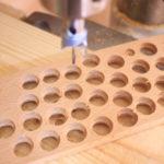 佛珠刀で作ったブナのブレスレット