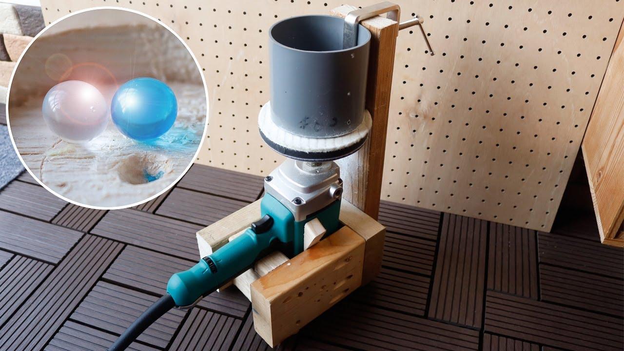 ビーズ・木球・レジン球体を研磨できる研磨機2