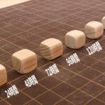 バレル研磨機でひのきチップ作り(時間経過)