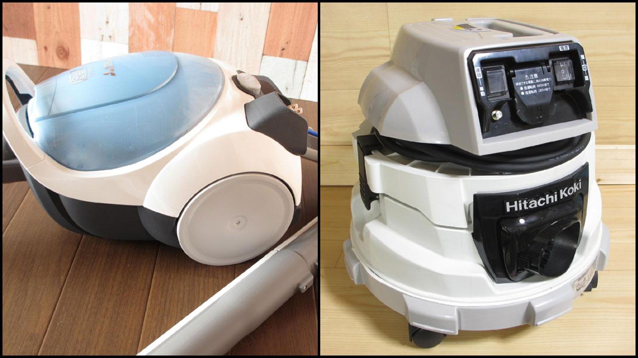 掃除機と集塵機 どっちがDIYに最適?