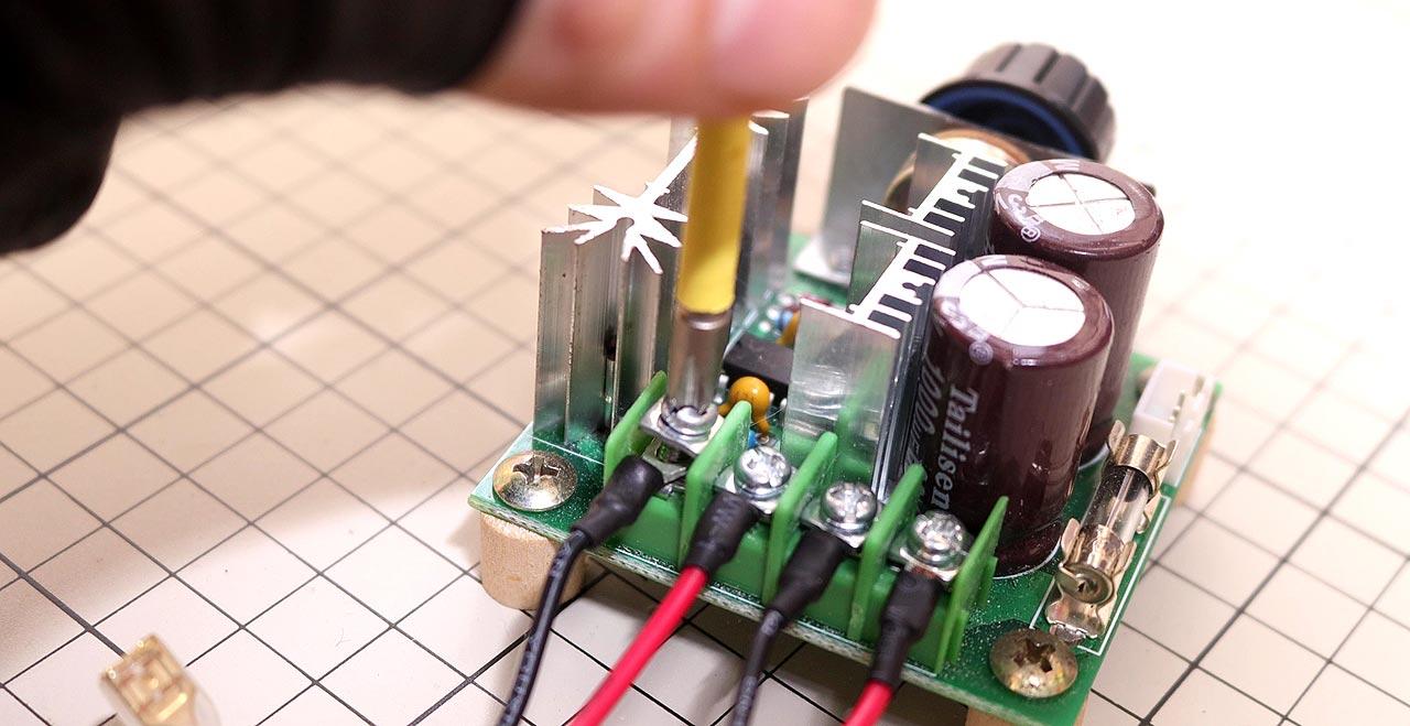 速度 コントローラー モジュール(配線)